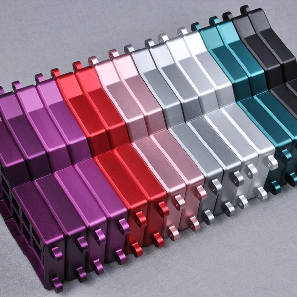 Surface treatment of anodizing