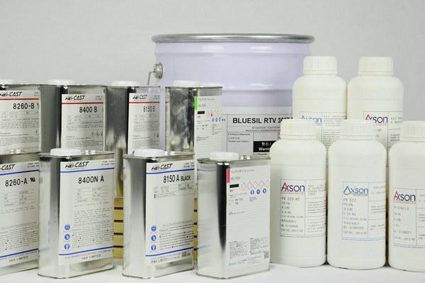 silicone mold materials